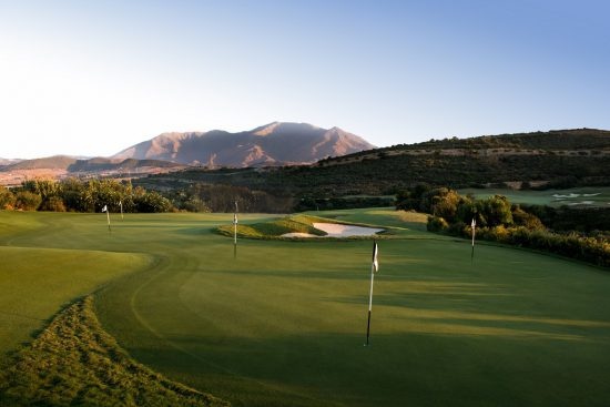Finca Cortesin Golf Course in Malaga