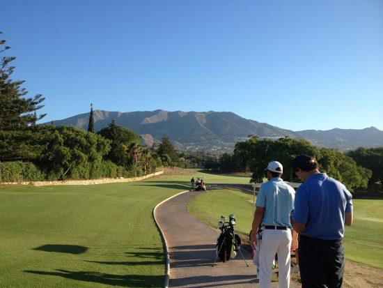Los Lagos golf course at Mijas Golf in Malaga
