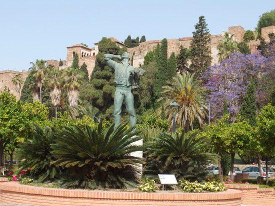 Alcazaba historical attraction in Malaga