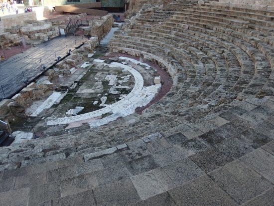 Roman theatre in Malaga