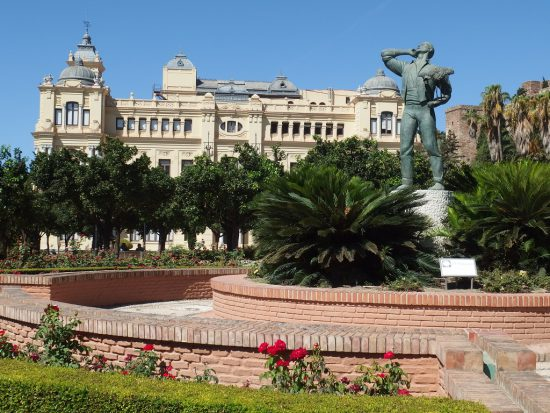 city hall and biznaguero - Historical Attractions in Malaga
