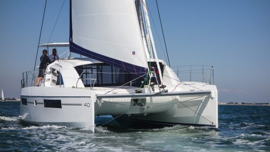 Catamaran water sports