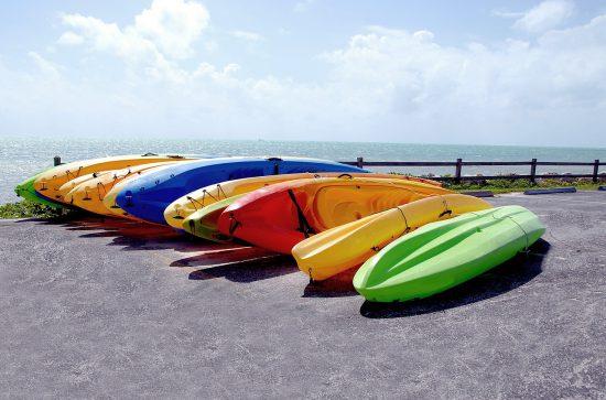 kayaks water sports