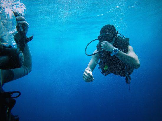 scuba diving water sports