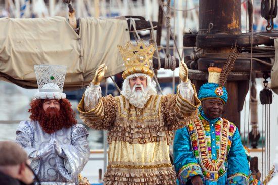 three kings procession