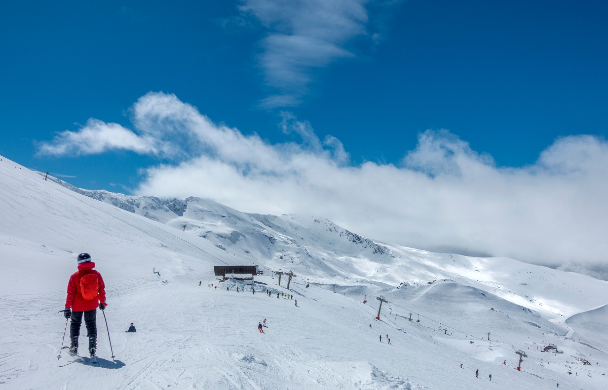 Sierra Nevada skiing