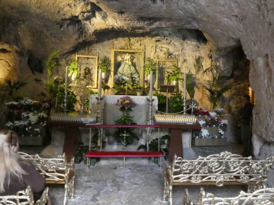 Chapel of the Virgin of the Rock - Mijas