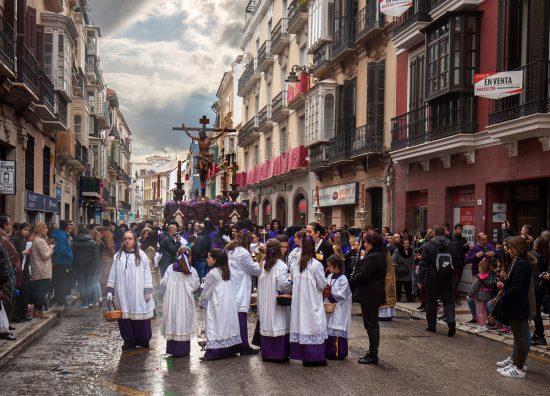 Malaga Holy Week procession