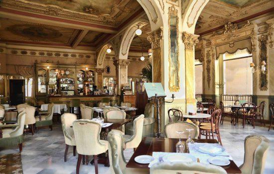 Cafe Royalty in Cadiz