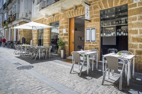 Sopranis restaurant in Cadiz