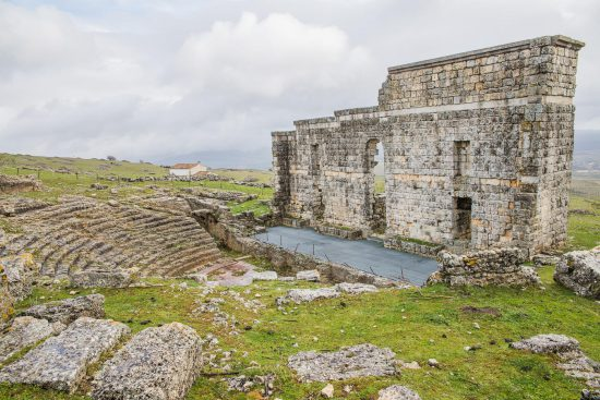 Acinipo Roman ruins Spain