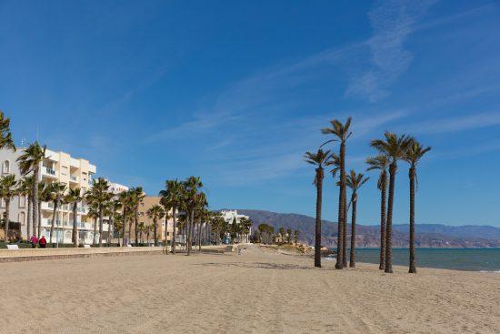Roquetas de Mar beach