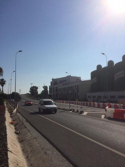 Tilkørselvej til Malaga Lufthavn