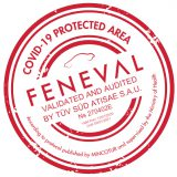 covid-19 protected area certificate feneval tuv Helle Hollis