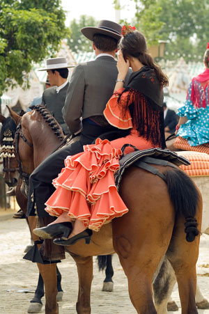 Seville fair in April