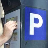 Blue parking zone