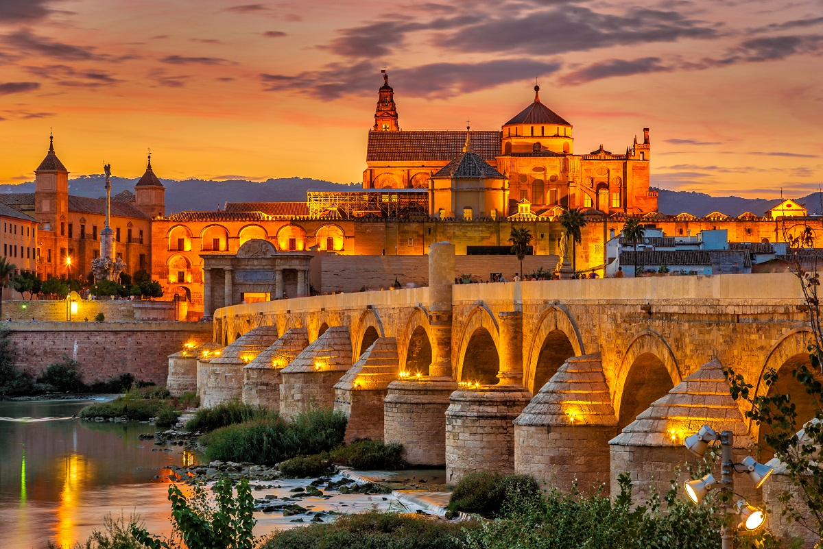 Cordoba at sunset