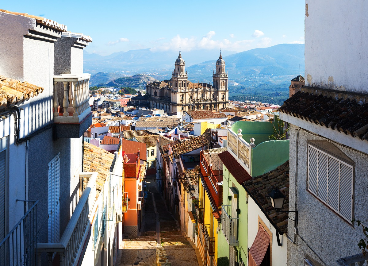 View of Jaen Cathedral