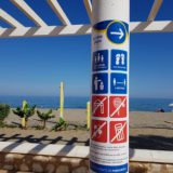 App beach capacity Costa del Sol