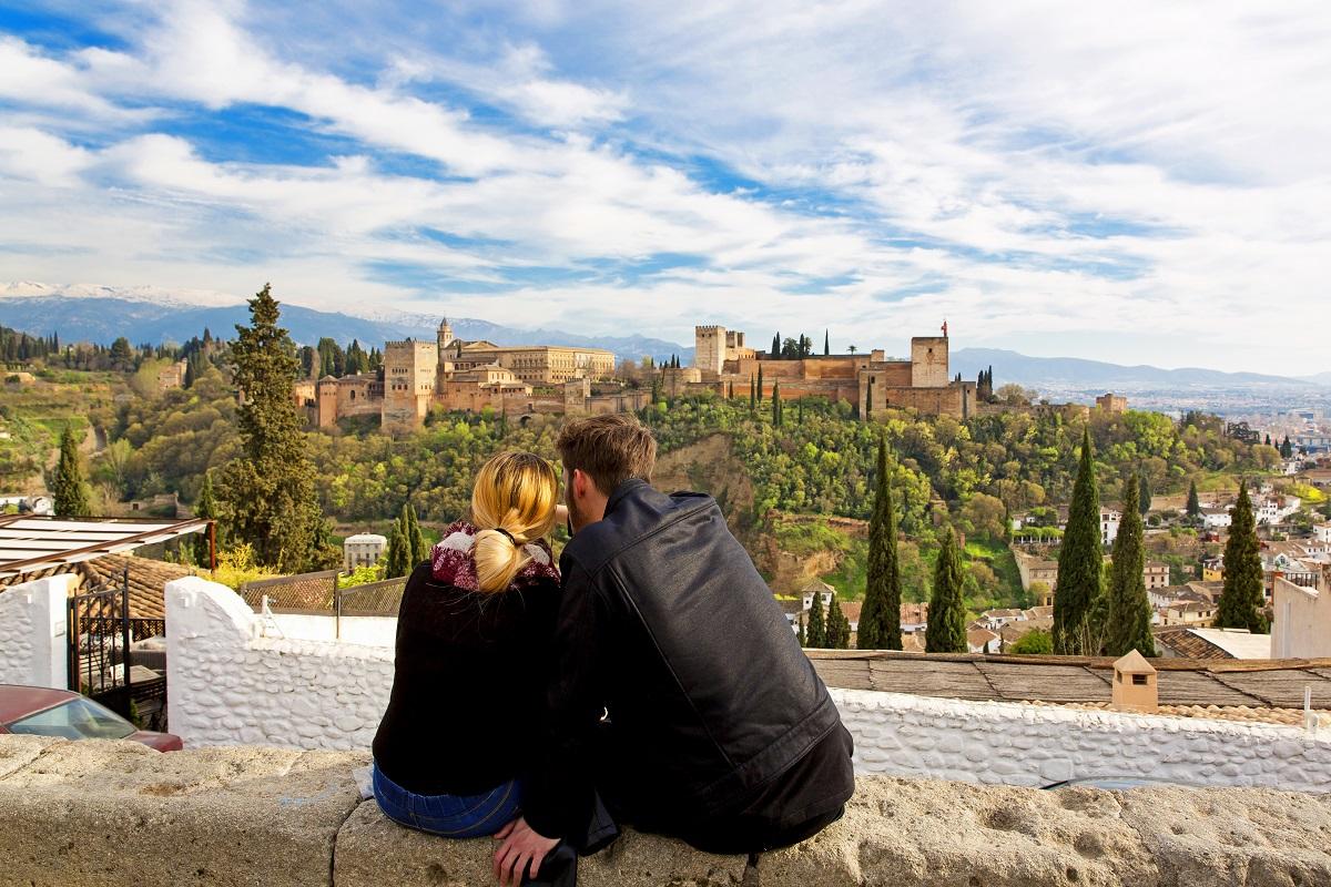 Mirador de San Nicolas in Granada