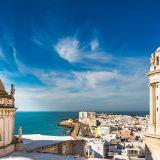 Cadiz view in Spain