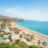 Nerja beach in Costa del Sol